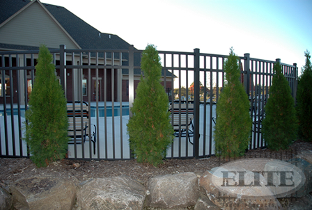 Commercial Grade Aluminum Fencing From Elite Fence
