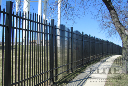Heavy Industrial Fence 1