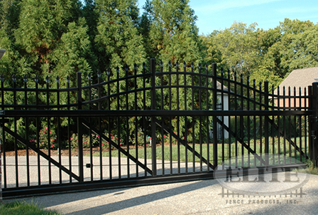Ziptrack Aluminum Ornamental Gates Elite Fence Products