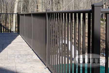 Aluminum Railing Elite Fence Products Inc Ornamental